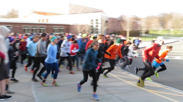 Ithacans, family members, friends and dogs participated in the 45th annual Turkey Trot in Ithaca