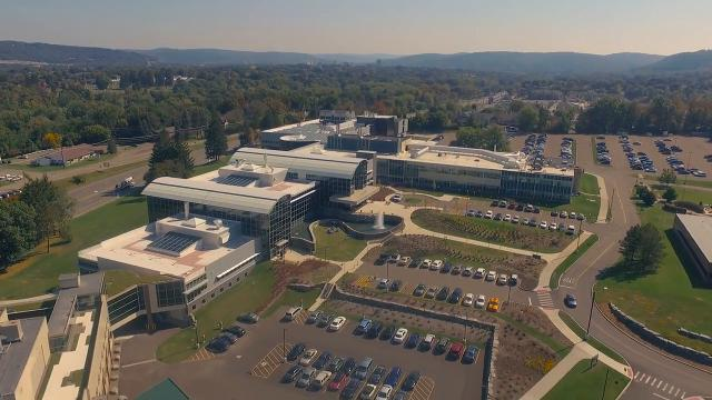 See Binghamton University from above, from the Nature Preserve to the Innovative Technologies Complex and all the buildings in between. Video produced by Binghamton University: https://www.youtube.com/watch?v=umgSZWpyl6Q