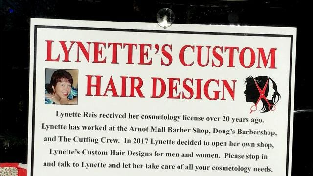After more than 20 years working for others, Lynette Reis recently opened her own hair design business in Elmira Heights.