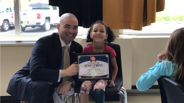 Each month, Senator Fred Akshar chooses a handful of students from local schools in his district to be 'Akshar's All-Stars.'