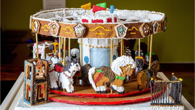 The Rockwell Museum in Corning announces the Judge's Choice winners of its third annual Gingerbread Invitational