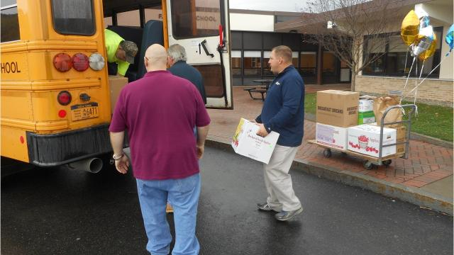 The Windsor Central School District held its Fill the Bus food drive from Oct. 23-Nov.3