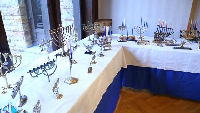 Temple Concord's Hanukkah House Museum is open to the public for the holidays. This year's special exhibit explores Jewish food from around the world.