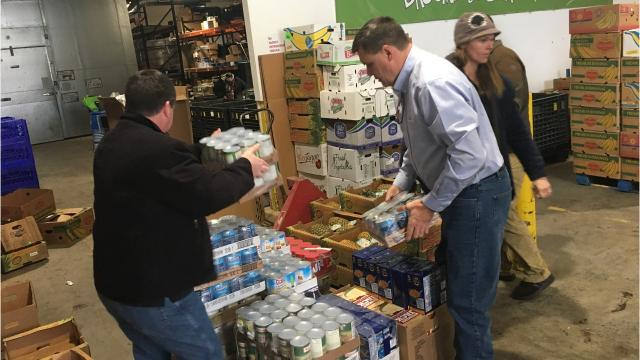 NG Advantage LLC delivered donations of locally-sourced, nonperishable food items to the Community Hunger Outreach Warehouse (CHOW)in Binghamton.