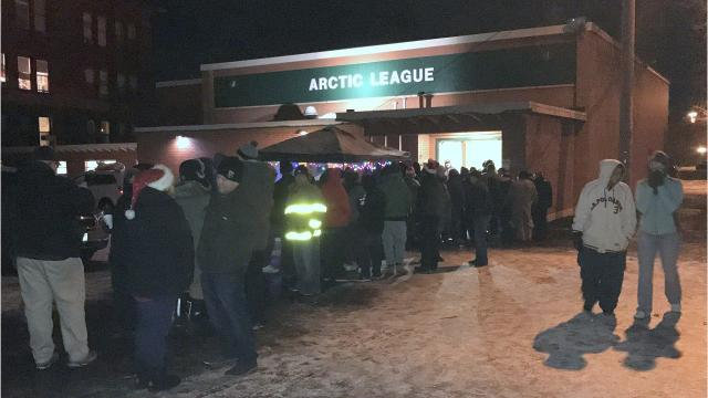 The Arctic League delivered gifts to hundreds of needy Elmira area families Christmas morning.
