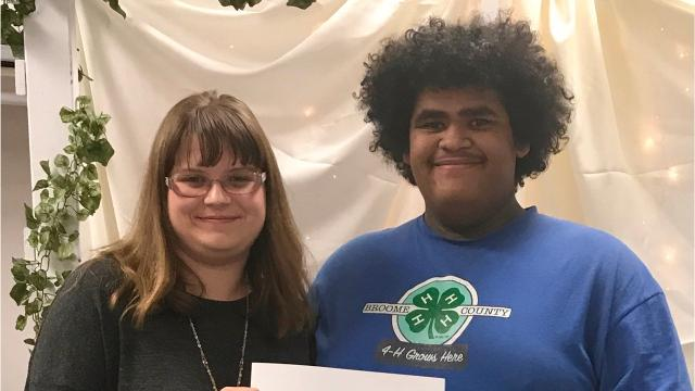 Local 4-H members, volunteers and staff celebrated the growth of the group's youth at the Annual Awards Dinner in November.