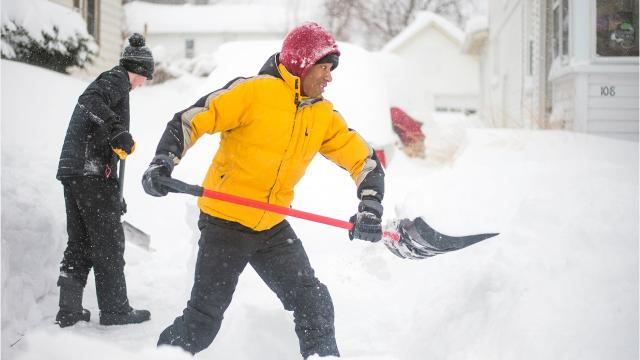 Here are five tips for staying safe in the winter, according to the American Red Cross.