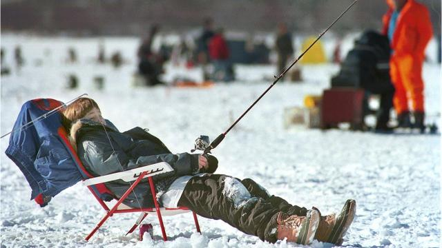 The Almost Annual New York State Crappie Derby will take place on the ice of the Whitney Point Reservoir Feb. 17-18.