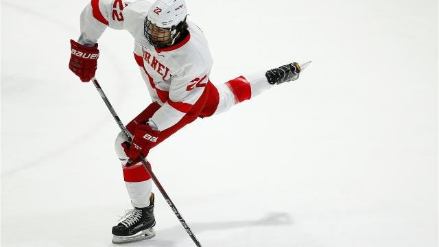 The Cornell Big Red topped the Princeton Tigers, 7-1, on Friday night, Jan. 5, at Lynah Rink.