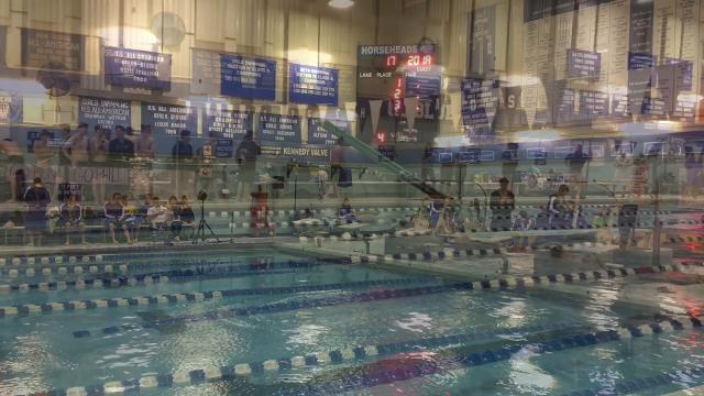 Video: Horseheads swimmers top Corning