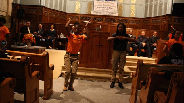 The Dr. Martin Luther King, Jr. Memorial Celebration & Service took place at Salvation Temple Church in Binghamton Monday evening.