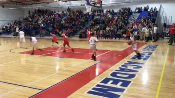 There was some talent on the floor at halftime of Friday night's varsity game.