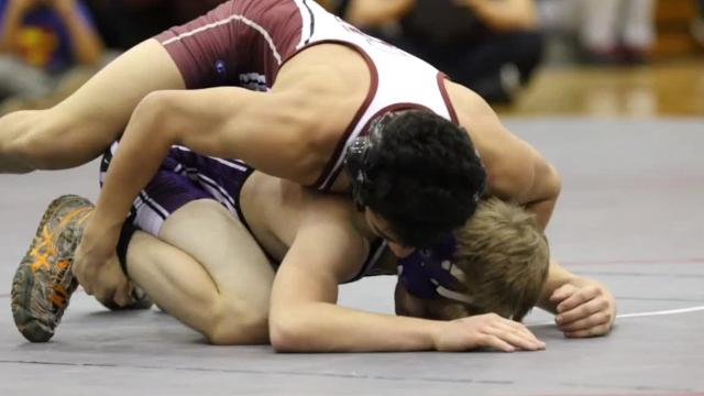 Before a large turnout at Chenango Valley, Horseheads compiled 215 points to beat runner-up Norwich by 16½ points in the STAC wrestling championships on Saturday, Jan. 20, 2018.