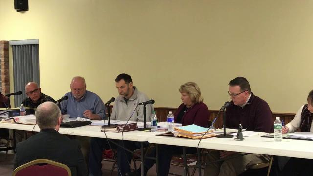 Town of Fenton Zoning Board of Appeals rejected an NG Advantage plan to build a natural gas transfer/compressor station on the community's southern boundary on Tuesday, Feb., 6 2018,