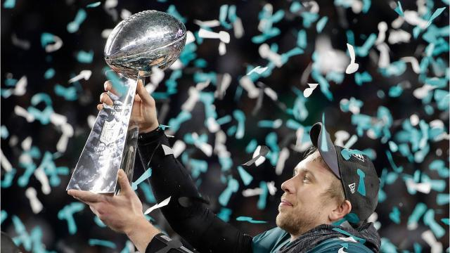 Sports columnist John Moriello drew parallels to high school sports and Super Bowl LII.