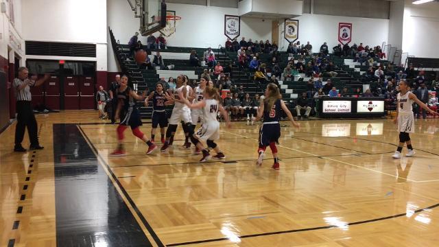 Elmira was a 57-43 winner over Binghamton in girls basketball Feb. 8 at Elmira High School.
