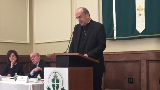 The Diocese of Syracuse is establishing a settlement program for victims of clergy sexual abuse spanning decades, Bishop Robert Joseph Cunningham announced Wednesday.