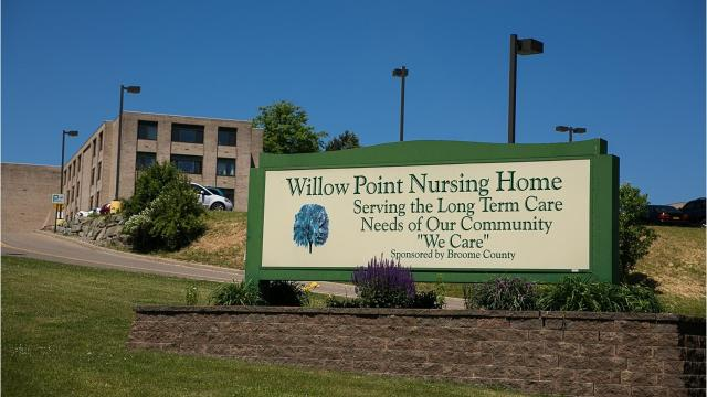 Broome County plans to withdraw its contract with Aramark Corp. and find a new food service provider after concerns about the quality of service and food the company is providing to the Willow Point Nursing Home.