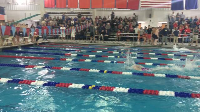 Video: Maine-Endwell claims Class B swimming title