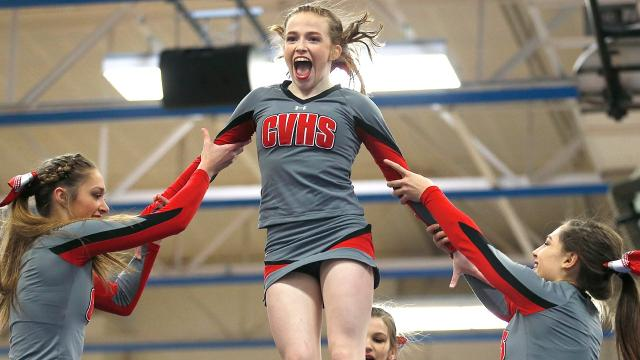 Watch the STAC-champion CV cheerleaders perform