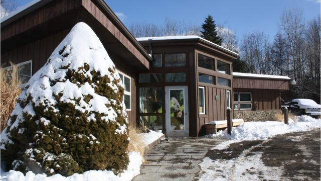 Waterman Conservation Education Center's main site is located on Hilton Road in Apalachin.