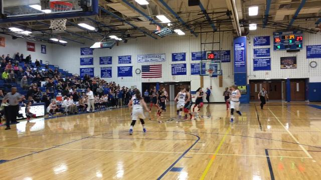 Horseheads was a 58-49 winner over Binghamton in a Section 4 Class AA semifinal Feb. 23 at Horseheads Middle School.