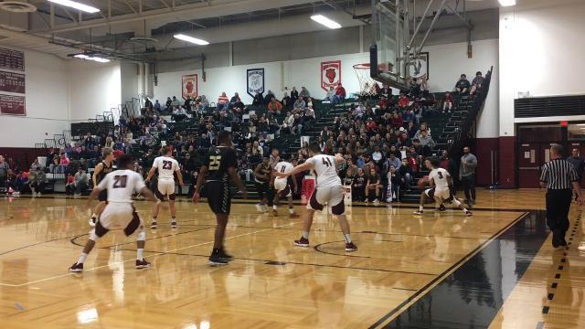 Corning was a 51-43 winner over Elmira on Feb. 27 in a Section 4 Class AA semifinal at Elmira High School.