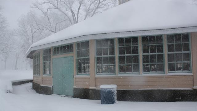 Here are a few scenes of the West Side of Binghamton on March 2.