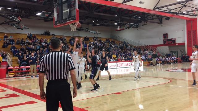 Unadilla Valley was a 58-48 winner over Tioga in the Section 4 Class C championship game March 4 at SUNY Cortland.
