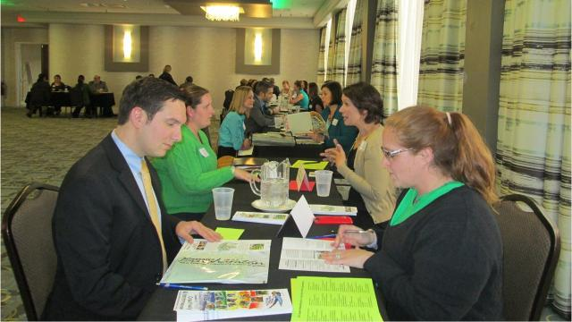 Every year, the Greater Binghamton Chamber of Commerce holds Speed Networking for a Cause.