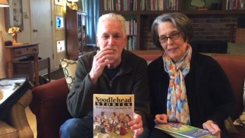 """Mitch Weiss and Martha Hamilton, co-authors of the """"Noodleheads"""" series, say what has inspired their latest children's books."""