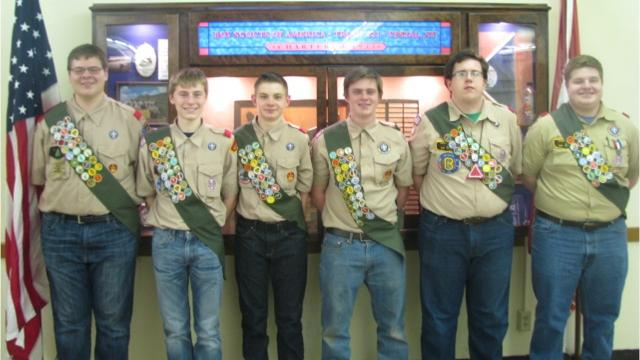 VIDEO: How 6 Eagle Scouts produced from one Boy Scout Troop
