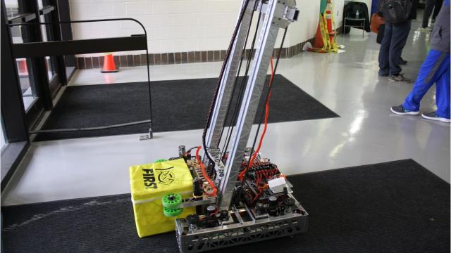 The ninth annual Southern Tier Robotics Competition was held on April 18, 2018.