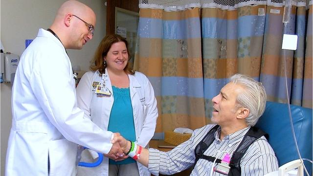 A Corning man facing heart failure has a new lease on life thanks to an innovative procedure performed in Rochester.
