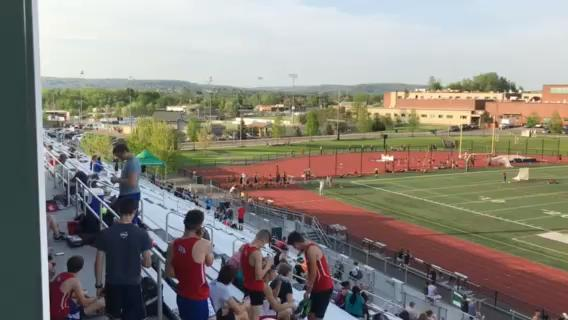 Action from Thursday's STAC track & field championships at Vestal.