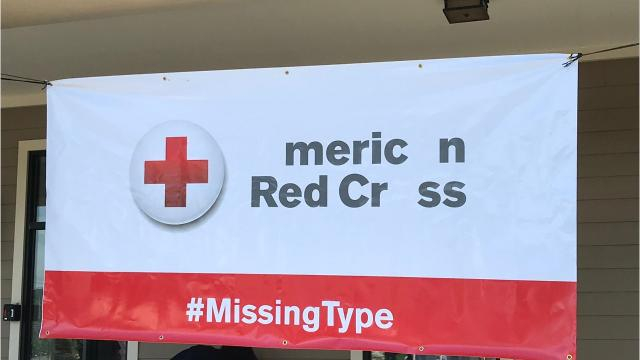 The Red Cross launched the Missing Types campaign June 11 to raise awareness for needed blood donors