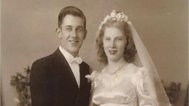 Windsor couple celebrate their 70th anniversary in 2018.