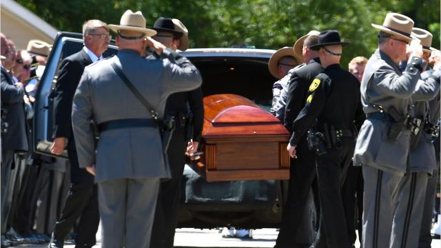 NY State Trooper Nicholas Clark, fatally shot while on duty, was laid to rest on Sunday, July 8, 2018. Audio by NY State Police.