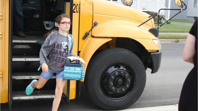 Wednesday marked the first day of school for students in the Union-Endicott Central School District.