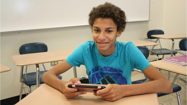 Reporter Maggie Gilroy spoke to Aden Degroat, a 14-year-old freshman at Windsor High School, to learn about the popular video game Fortnite.