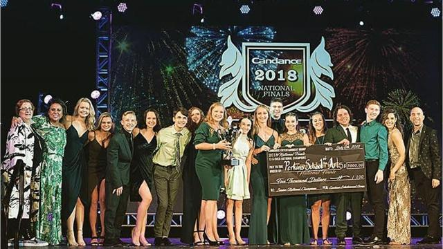 Norwich based Perkins School of the Arts won several at the Candance North American National Finals in July.
