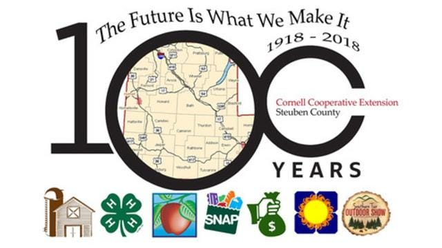Cornell Cooperative Extension of Steuben County celebrates its 100th anniversary this year.