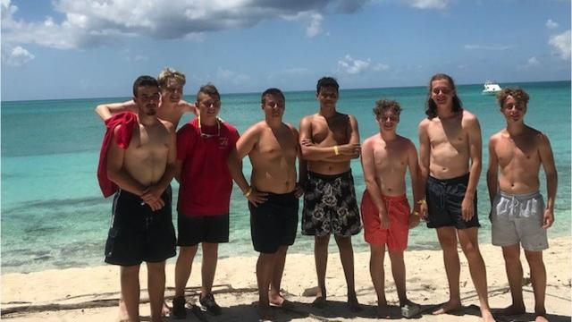 Scouts from Binghamton High School and Seton Catholic Central High School made the trip to help the Bahamiam Scouts with Hurricane preparedness procedures.