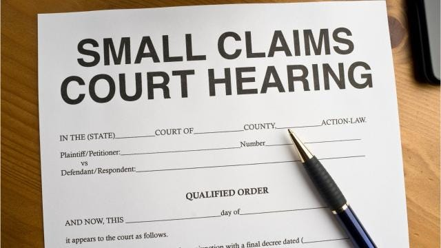Small claims court is the largely informal arena where petty cases are argued in a courtroom and before a judge. Plaintiffs and defendants make and state their own cases, often without benefit of legal representation.