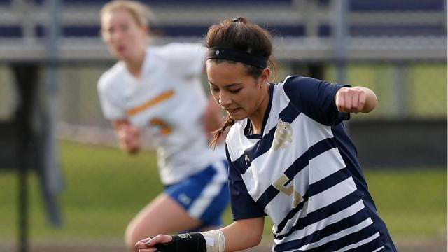 Laurel Vargas has won multiple Section 4 Class C titles at Elmira Notre Dame while scoring well over 100 career goals.