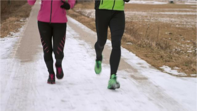 Here's how to pick the best attire for running in the cold, dark days.