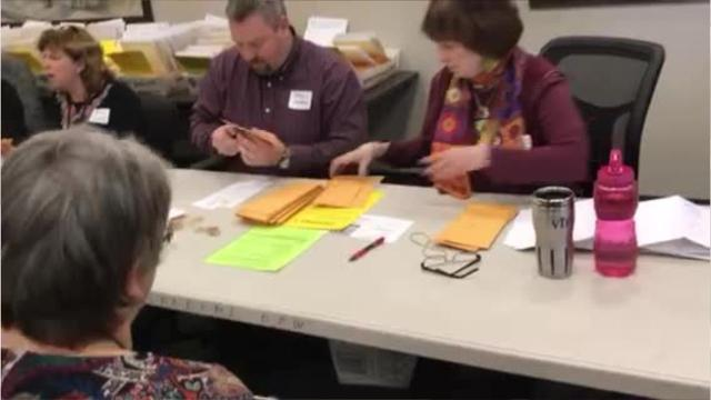 Absentee ballot counting begins in Broome County.