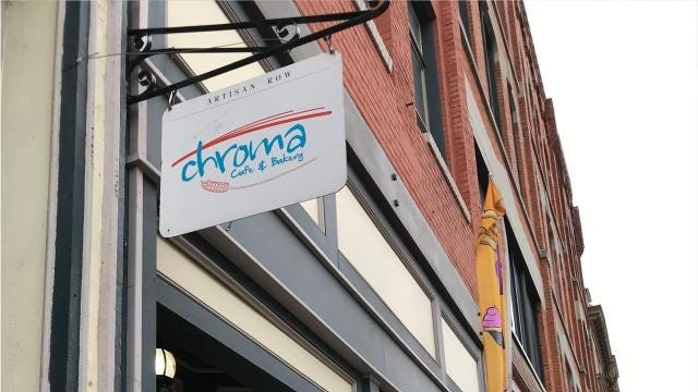 Chroma Cafe and Bakery is located on 97 Court Street in Binghamton.
