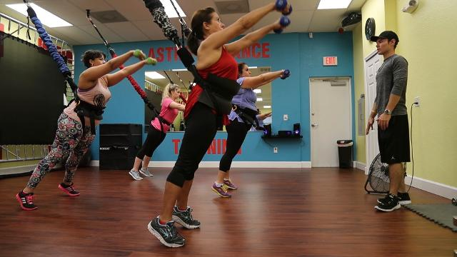 Cape Coral Gym Launches Astro Durance Bungee Workout