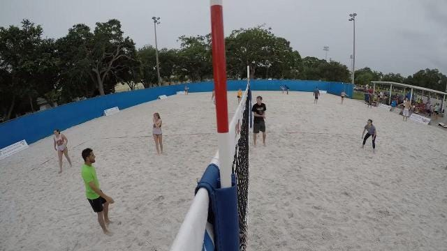 Midtown Beach Sports Complex is now open